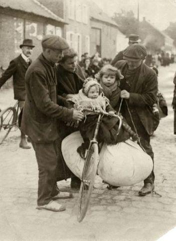 vluchtelingen vanuit Oost-Europa