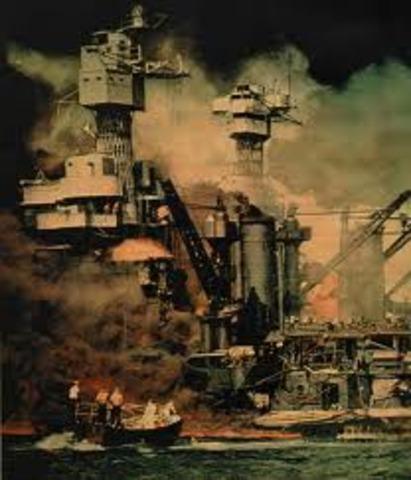 Ataque japonés a Perl-Harbour