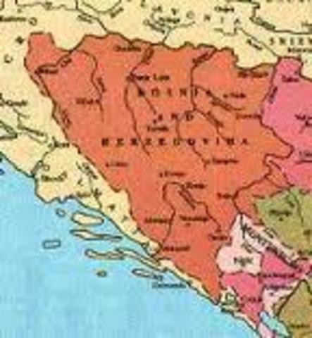 La crisis bosnia