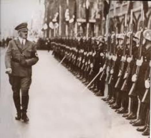 Alemania restableció el servicio militar obligatorio.