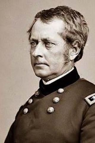 Loncoln Replaces Gen. Ambrose Burnside