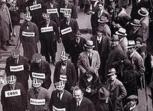El crack de 1929.