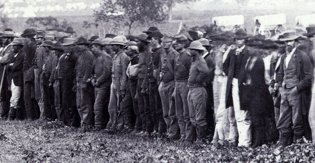 Union Prisoners escape