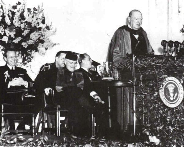 The Iron Curtain Speech