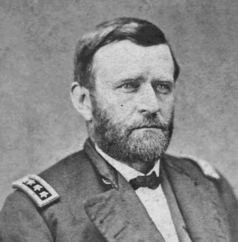Grant is head of armies
