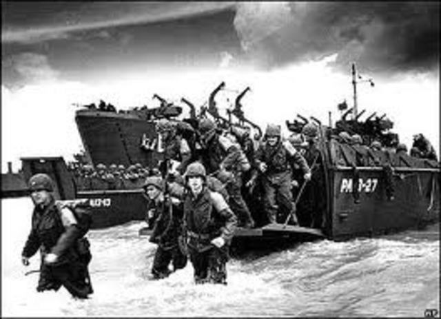 Desembarco en Normandía por EE.UU