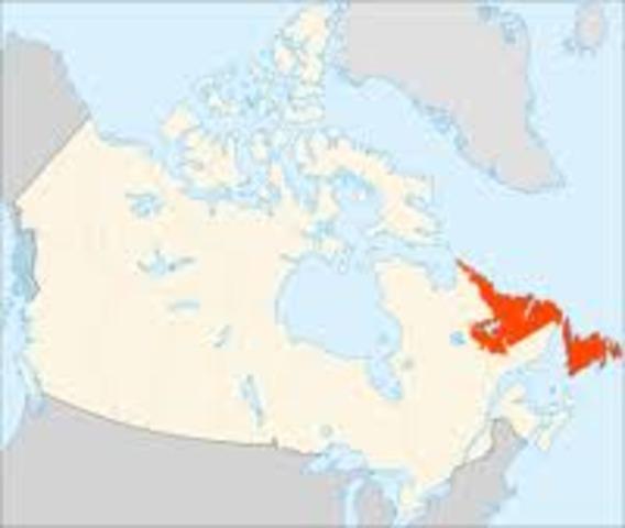Des voiliers viking arrivent a Terre Neuve