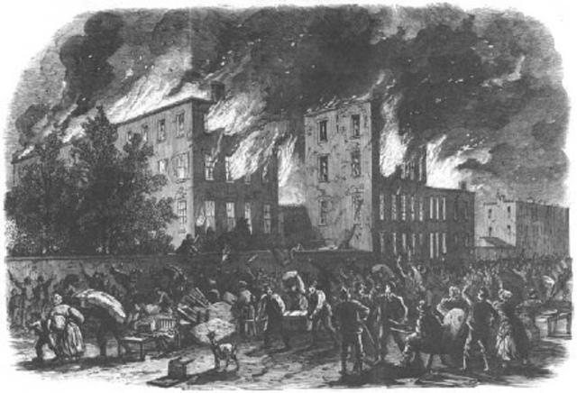 Draft Riots of NYC