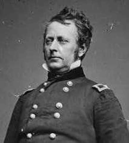 Burnside replaced by General Joe Hooker