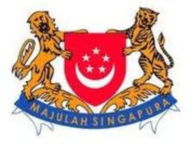 The Introduction of the Singapore Flag & State Crest