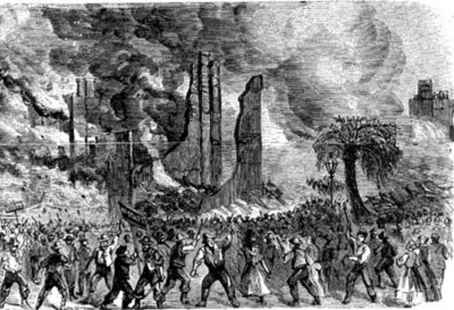 Riots in New York City