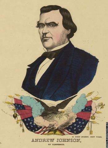 Congress overrides Andrew Johnson's veto