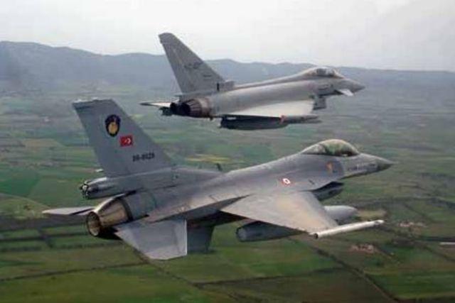 The U.S and Britain launch air strikes againest Iraq