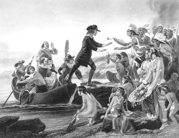 Rhode Island Colony Formed