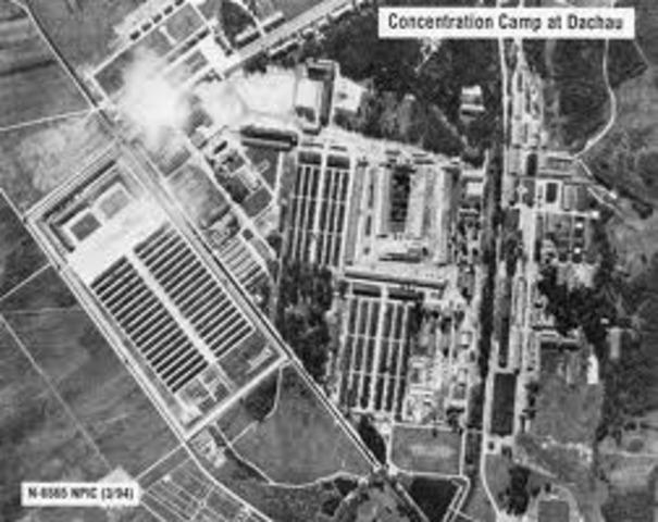 Nazis open Dachau concentration camp