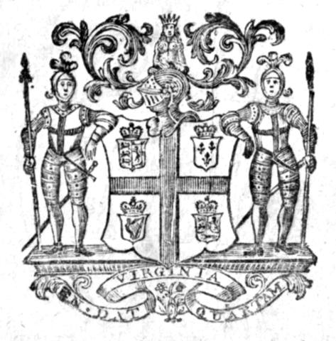 Virginia Colony Formed