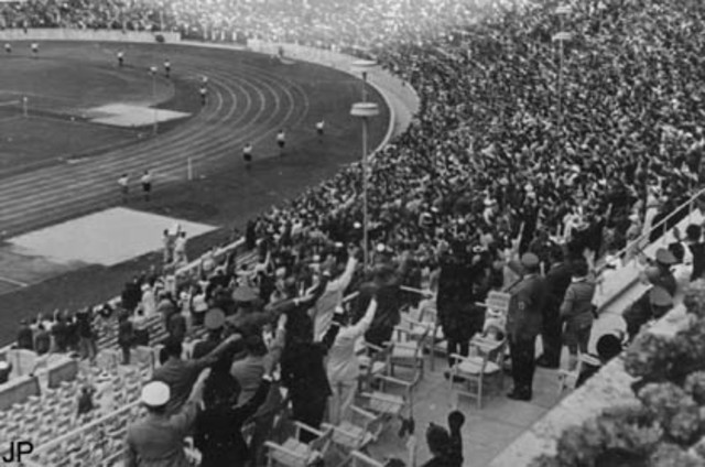 Olympic games begin in Berlin.