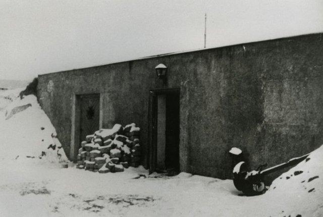 Newly built gas chamber/crematory