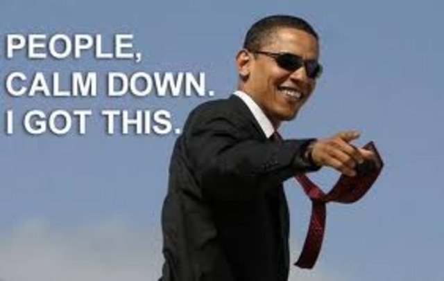 Obama convierte en el presidente