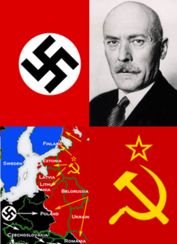 Nazi Germany and its Axis partners (except Bulgaria) invade the Soviet Union.