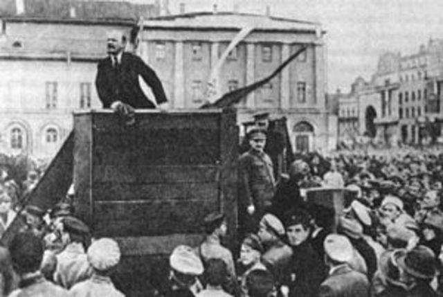 The October Revolution of 1917