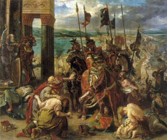 Barons revolt.