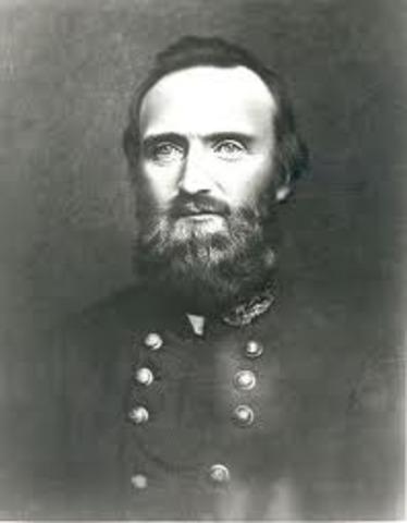 """Stonewall"" Jackson defeats Union forces"