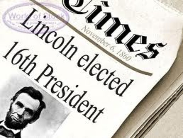 Abraham Lincoln is Re-Elected