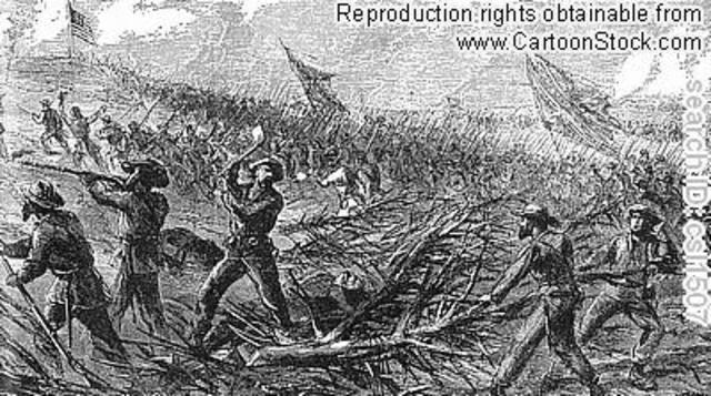 Ambrose Killed at Petersburg