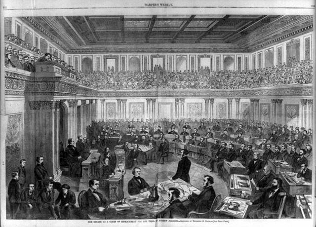 Congress passes the Tenure of Office Act