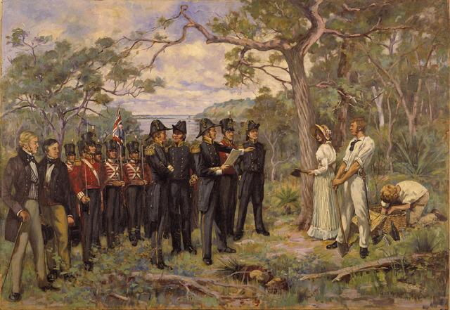 Establishment of Perth