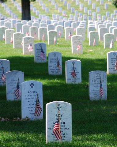 Arlington Cemetery Established