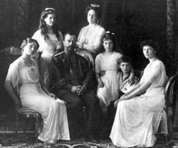 Death of Nicholas II and His Family