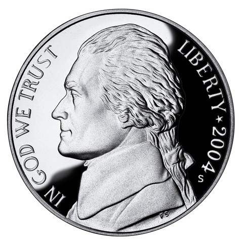 Nickles are minted now.