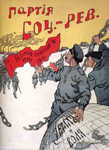 The Socialist-Revolutionary Party is Founded