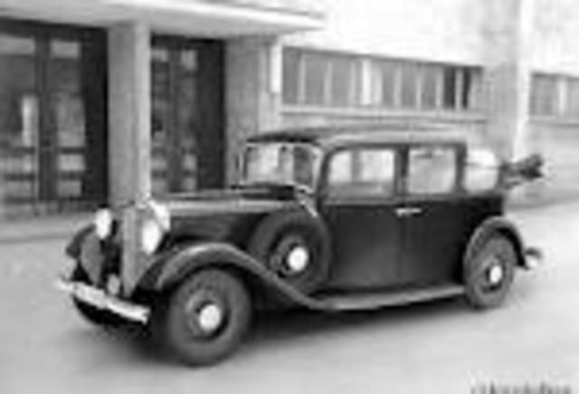 First diesel powered passenger car