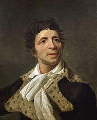 Jean-Paul Marat (24 May 1743 – 13 July 1793)