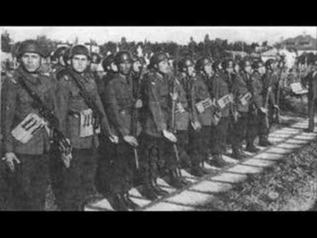 The Threat of Soviet Troops Causes the Romanians to Switch Sides in the War