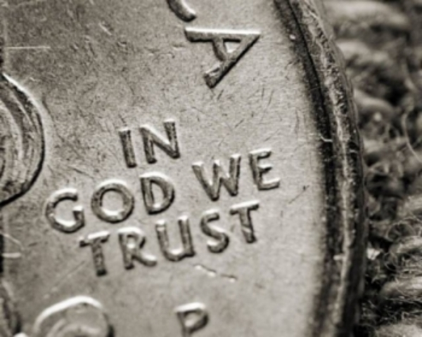 """""""In God We Trust"""" on coins"""