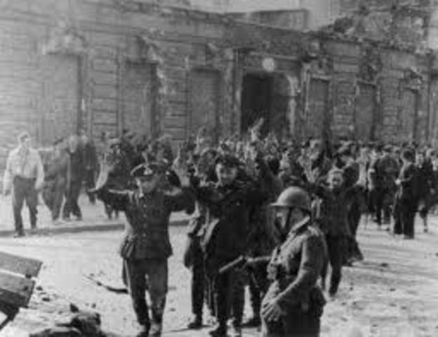 Germans Captured Warsaw