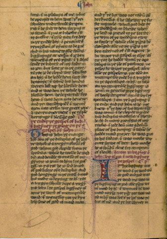 the First Middle-English Text