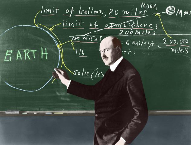 Contributions of Robert Goddard