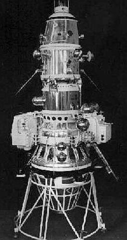 First Artificial Satellite to orbit the moon