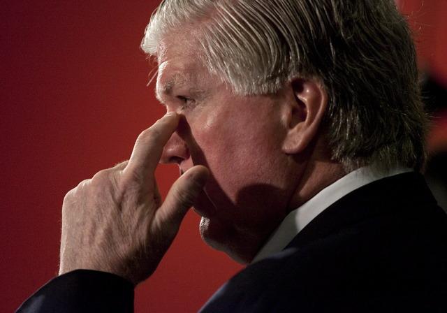Burke hangs up on Toronto radio host