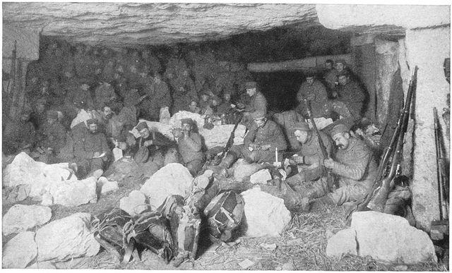 German Troops Break Through