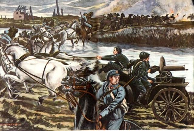 Guerra de movimientos 1914.1ª etapa I GM