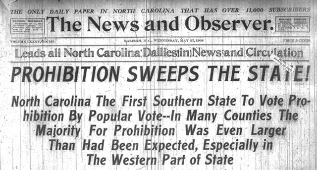 prohibition empezo