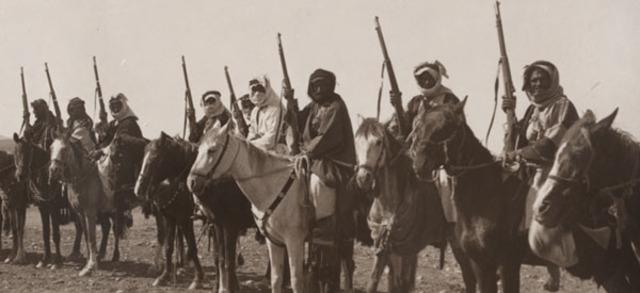 Rebelión árabe contra los turcos.