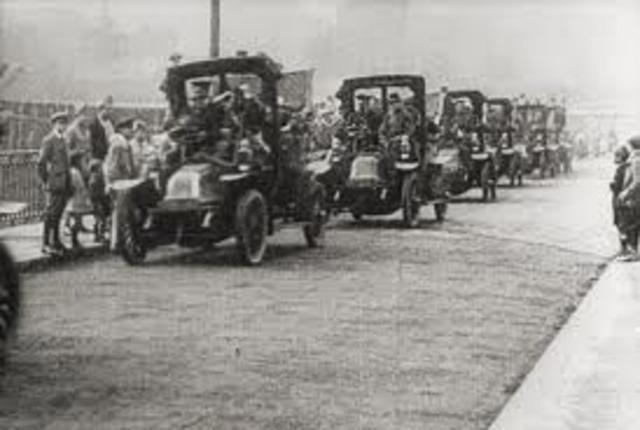 Alemanes llegan al Marne