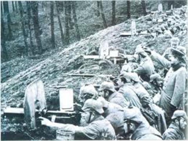 Las tropas alemanas cedieron